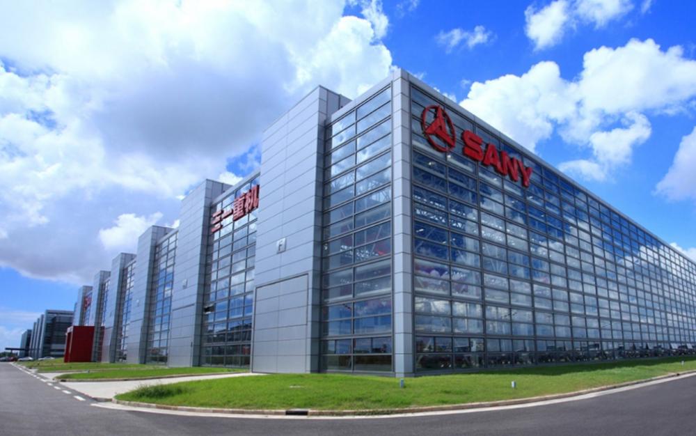 Видео: масштабы компании Sany поражают